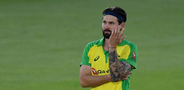 Fast bowler Kane Richardson withdrew from Australia's limited-overs squad to face India to stay with his wife and newborn son. Credit: Reuters Photo