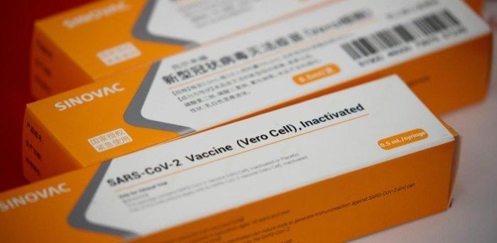 SinoVac's Covid-19 vaccine. Credit: Reuters Photo
