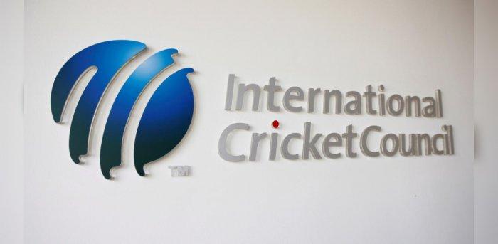 The International Cricket Council (ICC) logo. Credit: Reuters Photo