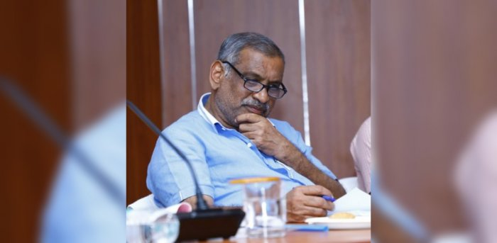 Law Minister JC Madhuswamy file photo. Credit: DH Photo