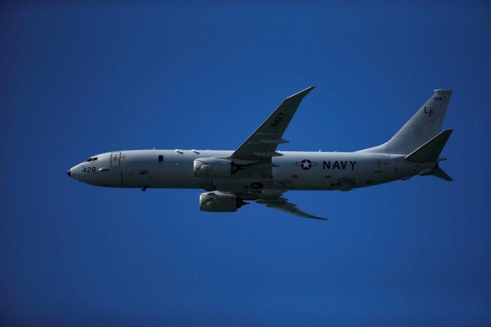 A Boeing P-8 Poseidon aircraft. Credit: Reuters