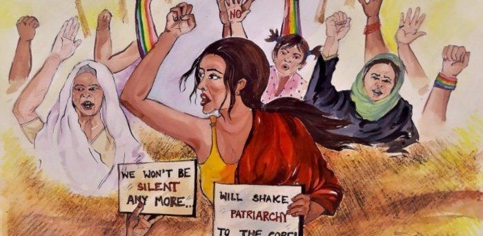 Representative image. Credit: Simlyn J/Feminism In India