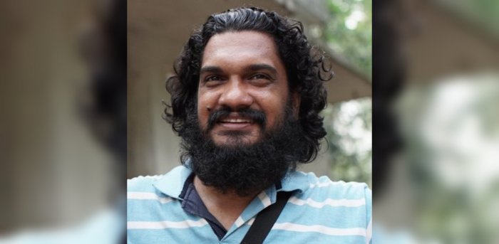 Filmmaker Sanal Kumar Sasidharan.Credit: Twitter/@sanalsasidharan