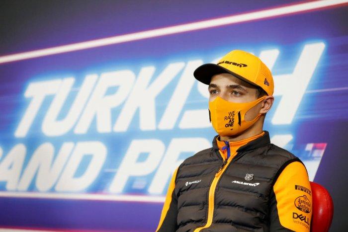 McLaren's Lando Norris. credit: Reuters Photo