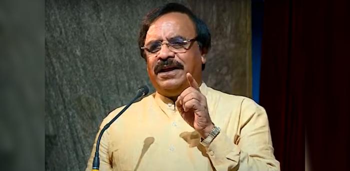 Mahadeva Prakash. Credit: YouTube screengrab (Bangalore Political Action Committee BPAC)