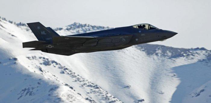 F-35 fighter jet. Credit: AFP Photo