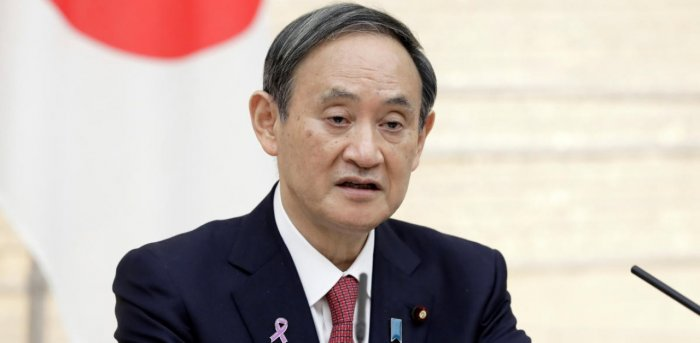 Japan PM Yoshihide Suga. Credit: Reuters Photo