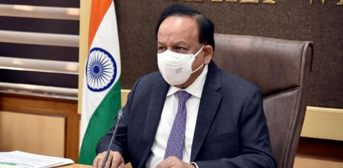 Union Health Minister Harsh Vardhan said the selection of candidates will be made by the Medical Council Committee on the basis of rank obtained in NEET 2020. Credit: PTI.