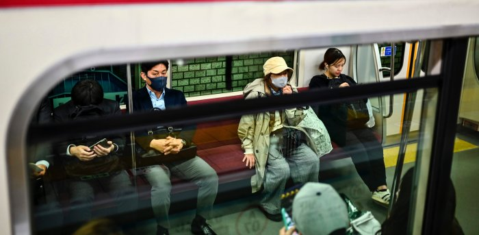 Japan has so far taken a comparatively relaxed approach to coronavirus restrictions, with even a nationwide state of emergency in the spring carrying no obligation for businesses to close or people to stay at home. Credit: AFP