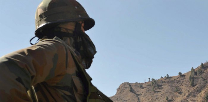 With increasing number of ceasefire violations by Pakistan, infiltration attempts by the militants and chilly and foggy weather conditions, the soldiers can't afford to lower their guard for a moment. Credit: PTI/ Representative