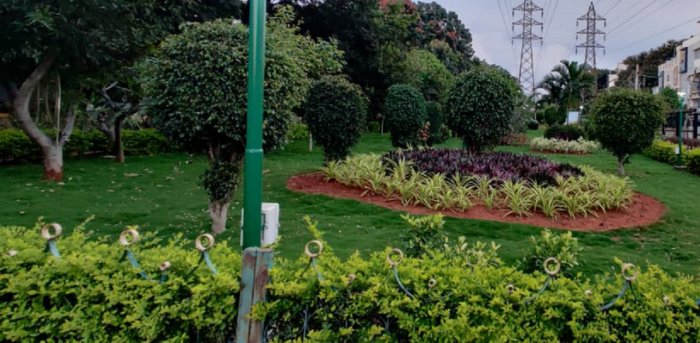 Vijayanagar Garden. Credit: DH File Photo