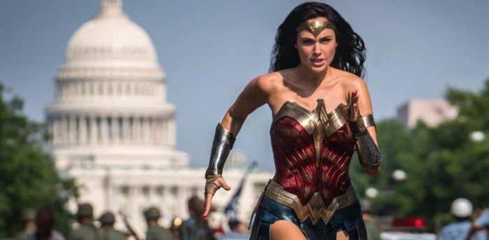 A still from 'Wonder Woman 1984'. Credit: Twitter/@GalGadot