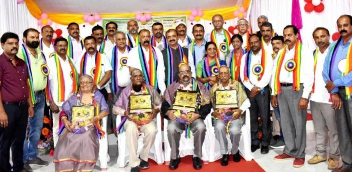 Achievers in the cooperative field were felicitated during the valedictory programmeof the Cooperative Week in Madikeri on Friday.