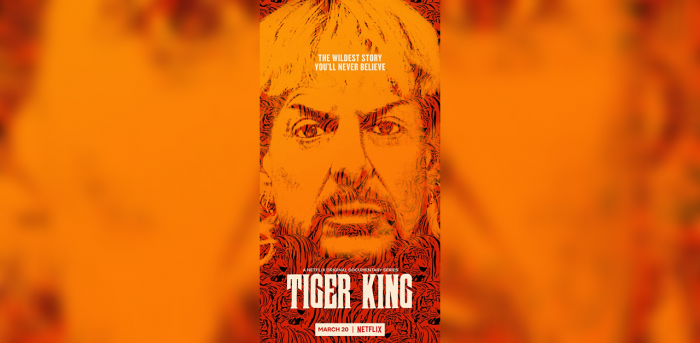 The official poster of Netflix's 'Tiger King'. Credit: IMDb