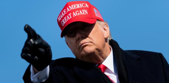 US President Donald Trump. Credit: Reuters Photo