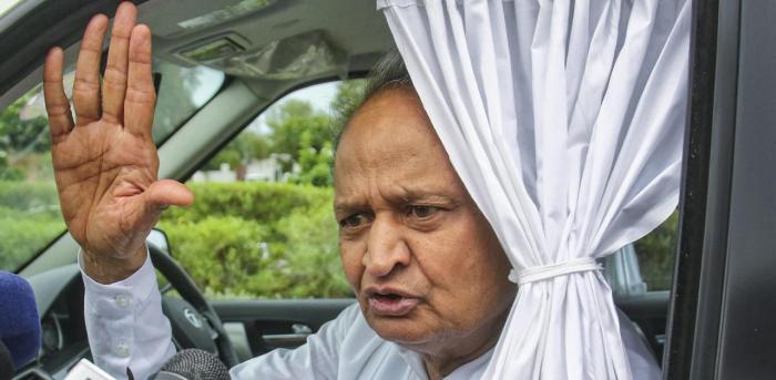 Rajasthan Chief Minister Ashok Gehlot. Credit: PTI Photo
