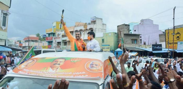 Tamil Nadu BJP President L Murugan. Credit: PTI Photo