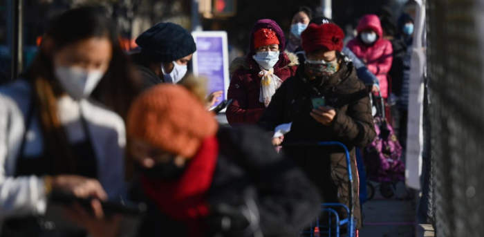 With 264,100 new daily cases, Europe is still the most-affected region -- far ahead of the US and Canada. Credit: AFP Photo
