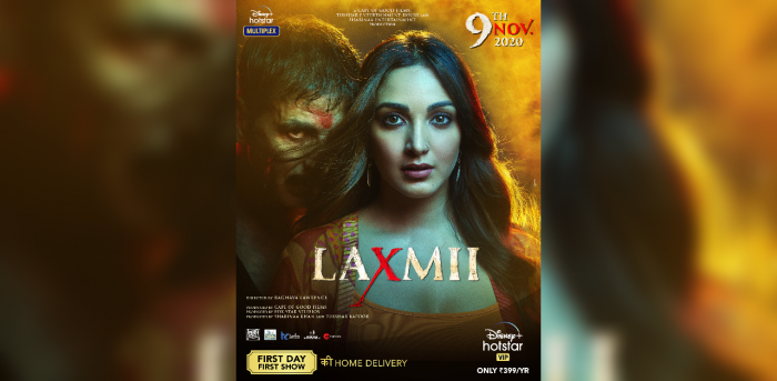 Akshay Kumar played the lead in 'Laxmii'. Credit: IMDb