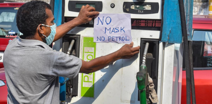 This is the first revision in petrol prices since September 22. Diesel rates hadn't changed since October 2. Credit: PTI Photo