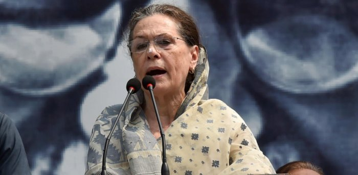 Congress president Sonia Gandhi has been advised to shift out of Delhi for a few days. Credit: PTI Photo