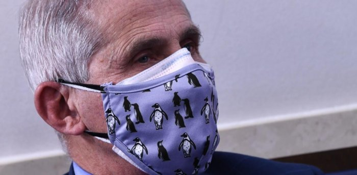 US infectious disease expert Anthony Fauci. Credit: AFP Photo