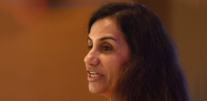 Former Indian Managing Director and CEO of the ICICI Bank Chanda Kochhar. Credit: AFP File Photo