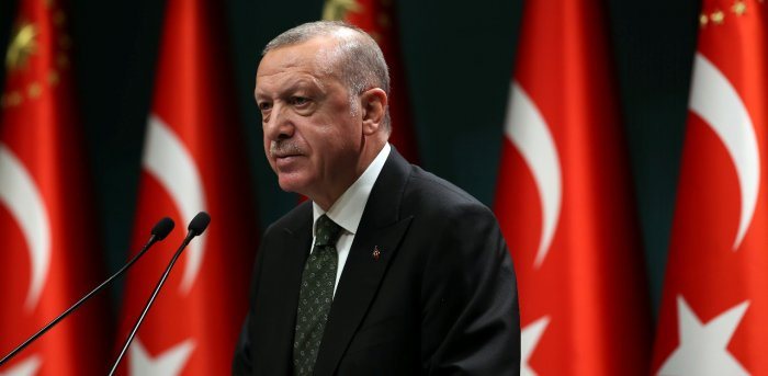 Turkish President Recep Tayyip Erdogan. Credit: Reuters Photo