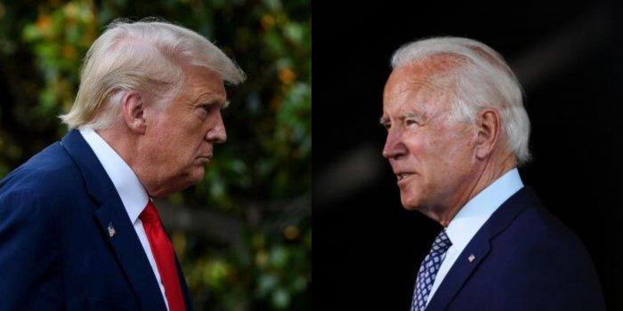 US President Donald Trump and Democratic President-elect Joe Biden. Credit: AFP Photo