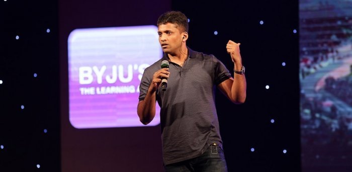 Founder of Byju's Byju Raveendran. Credit: Wikimedia Commons