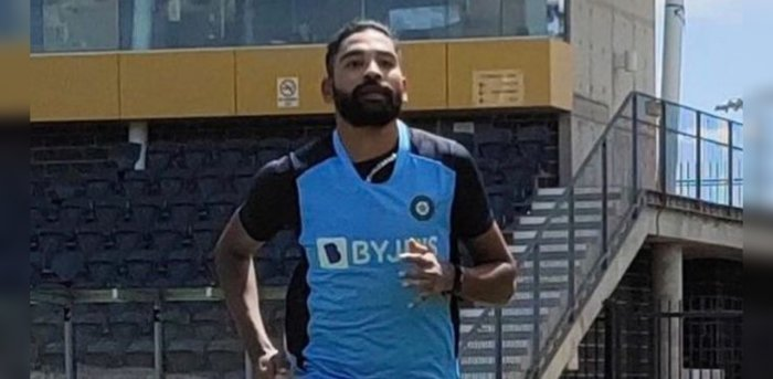 Pacer Mohammed Siraj. Credit: Instagram/mohammedsirajofficial