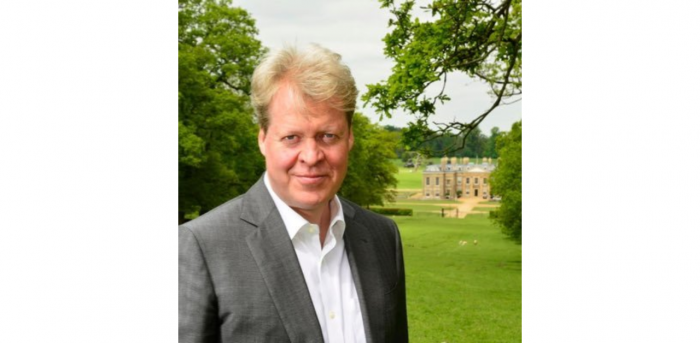 Princess Diana's brother Charles Spencer. Credit: Twitter/@cspencer1508