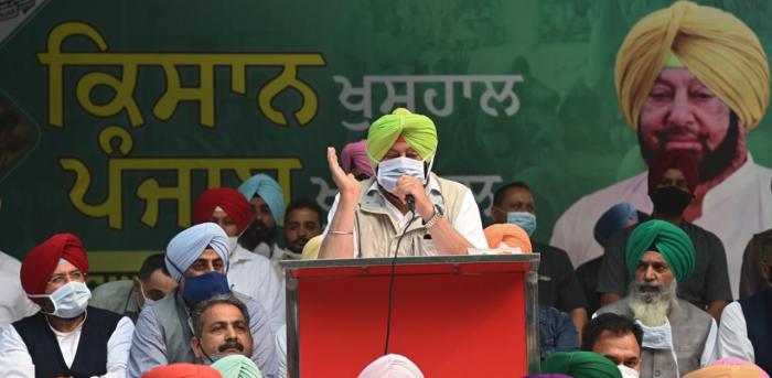 Punjab state chief minister Amarinder Singh. Credit: AFP Photo