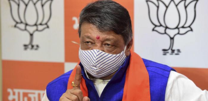 Bharatiya Janata Party (BJP) leader Kailash Vijayvargiya. Credit: PTI Photo