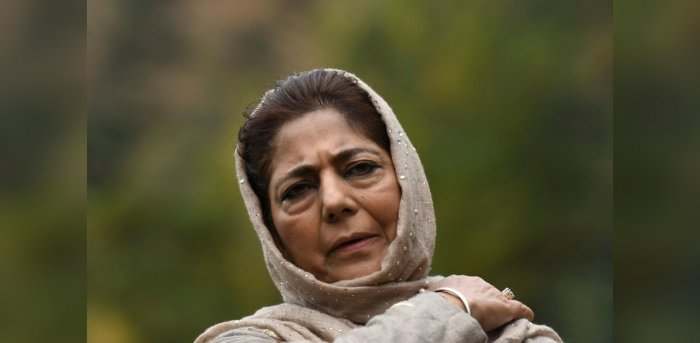 Former Chief Minister of Jammu and Kashmir Mehbooba Mufti. Credit: AFP Photo