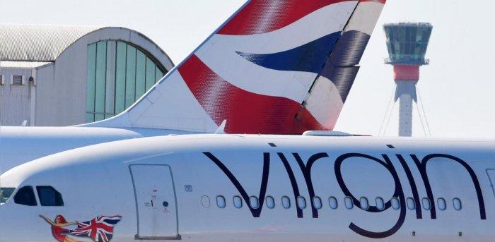 A Virgin Atlantic aeroplane. Credit: Reuters Photo