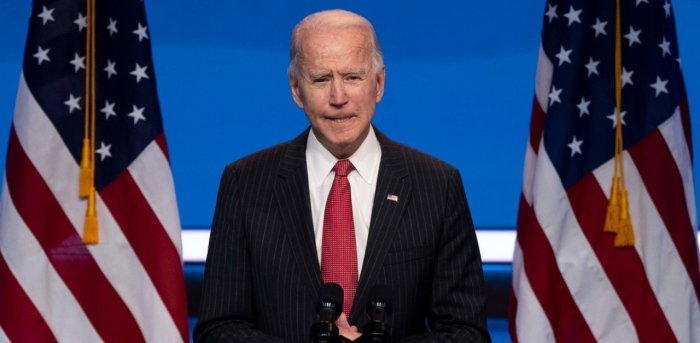 US President-elect Joe Biden. Credit: AFP Photo