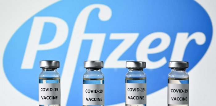 Pfizer's Covid-19 vaccine. Credit: AFP Photo