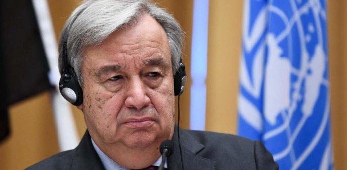 UN chief Antonio Guterres. Credit: AFP Photo