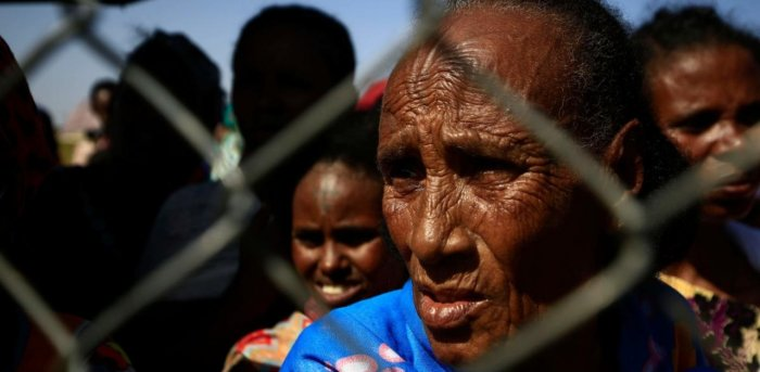 Conflict in Ethiopia's Tigray region has left some 2.3 million children in urgent need of assistance and thousands more at risk in refugee camps. Credit: AFP Photo