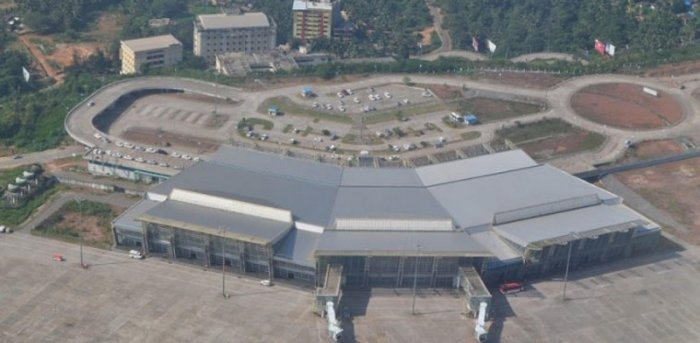 Harish Kumar urged Dakshina Kannada MP and State BJP president Nalin Kumar Kateel to inform the residents of Mangaluru on the status of the proposal that he had sent to the Centre on naming the Airport after Koti Chennaya. Credit: DH File Photo