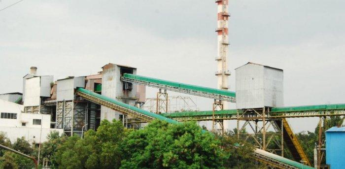 The Mysore Sugar factory in Mandya. Credit: DH file photo.