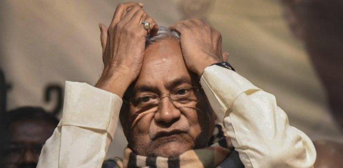 Nitish Kumar. Credit: PTI file photo.