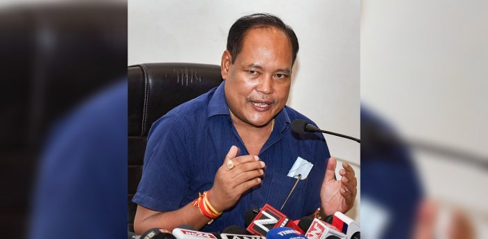 BPF's only MP Biswajit Daimary. Credit: PTI Photo