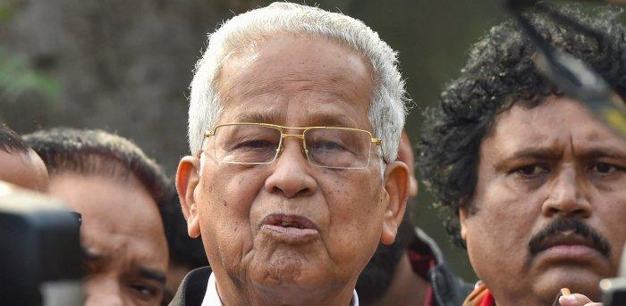Former Assam CM Tarun Gogoi. Credit: PTI File Photo