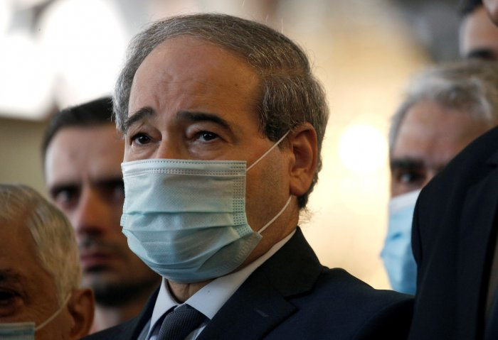 Syria's new Foreign Minister Faisal al Mekdad. Credit: Reuters Photo