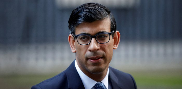 Britain's Chancellor of the Exchequer Rishi Sunak. Credit: Reuters Photo