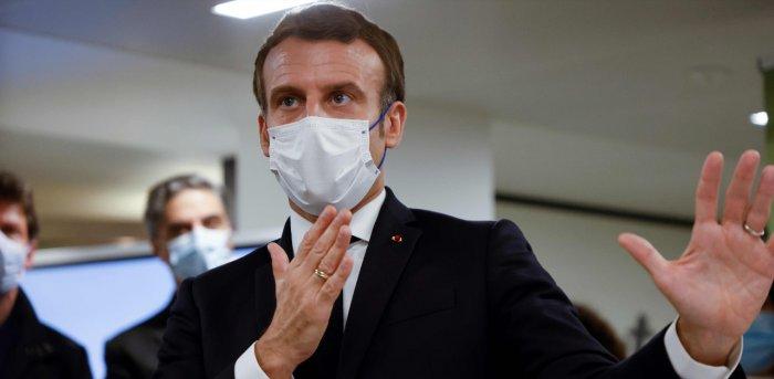 French President Emmanuel Macron. Credit: AFP Photo