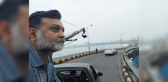 Director Srijit Mukherji. Credit: Twitter/@srijitspeaketh
