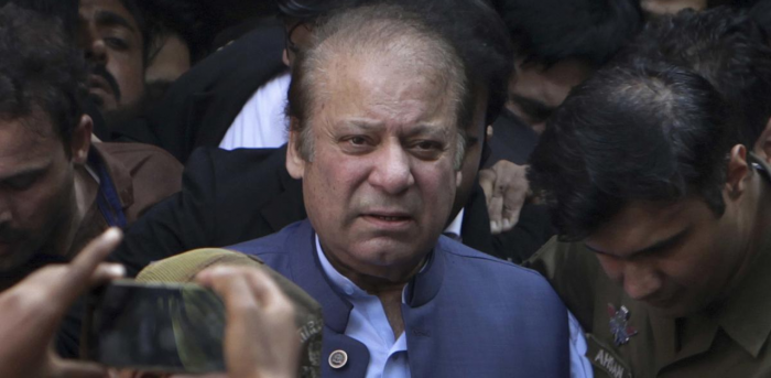 Pakistan's former prime minister Nawaz Sharif. Credit: AP Photo
